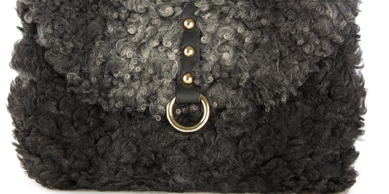 Kürk çanta modeli