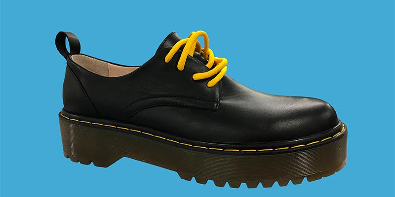Dolgu topuk loafers