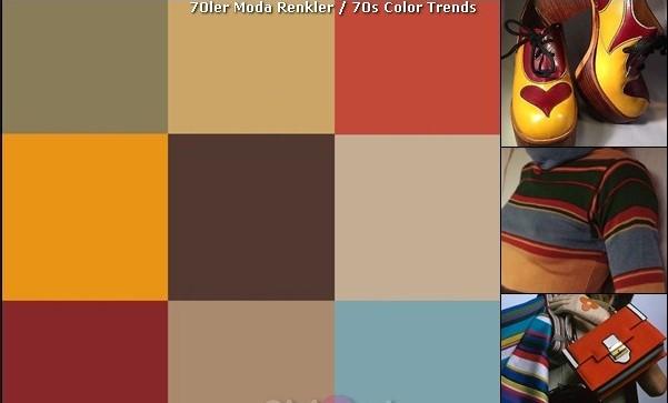 70'lerdeki renkler