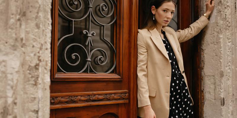 Ceket elbise kombini