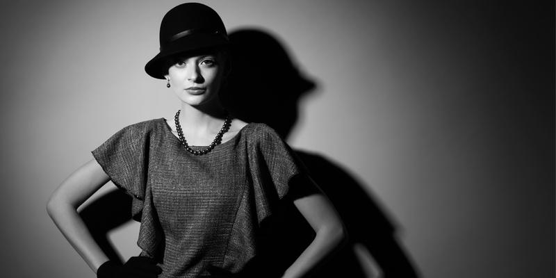 Cloche şapka modeli