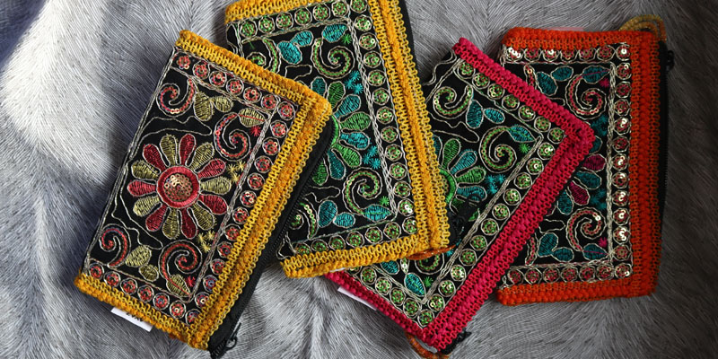 Wayuu cüzdan çanta