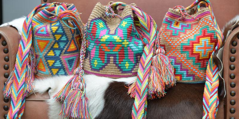 Wayuu örgü çanta