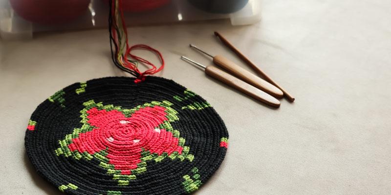 Wayuu çanta yapılışı
