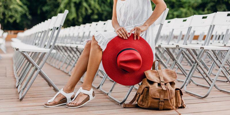 Klasik sandalet modeli