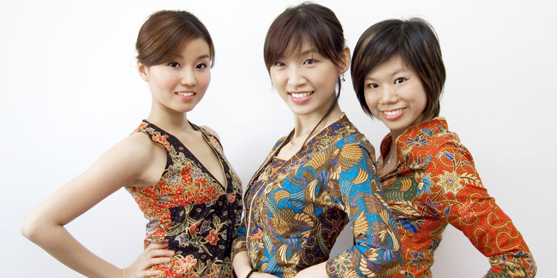 batik elbise modeli