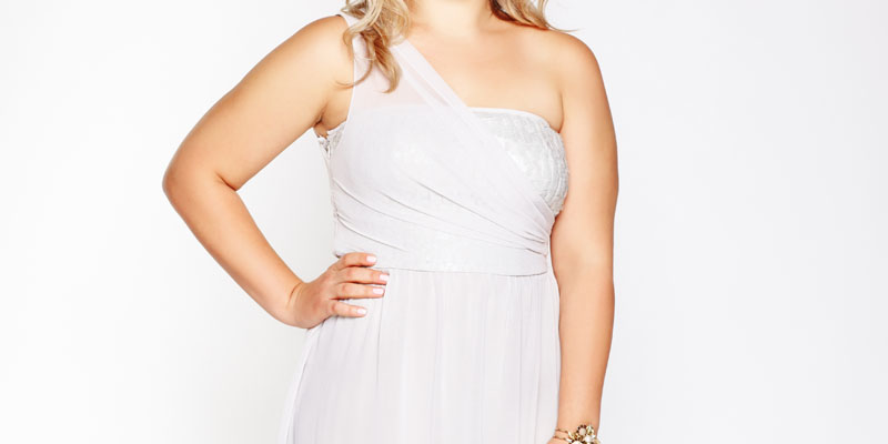 tek askılı elbise
