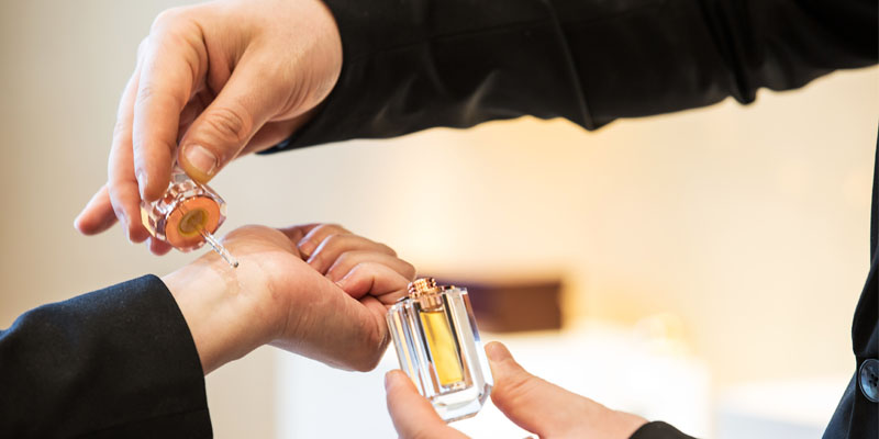 Parfüm seçimi