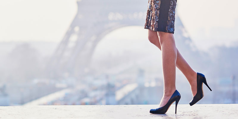 Topuklu ayakkabı ile yürüme sorunu