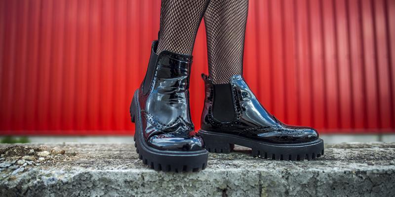 Çorap ayakkabı kombini