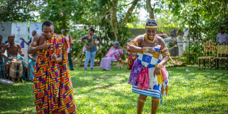 Gana geleneksel düğünü