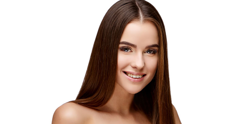 düz saç modeli