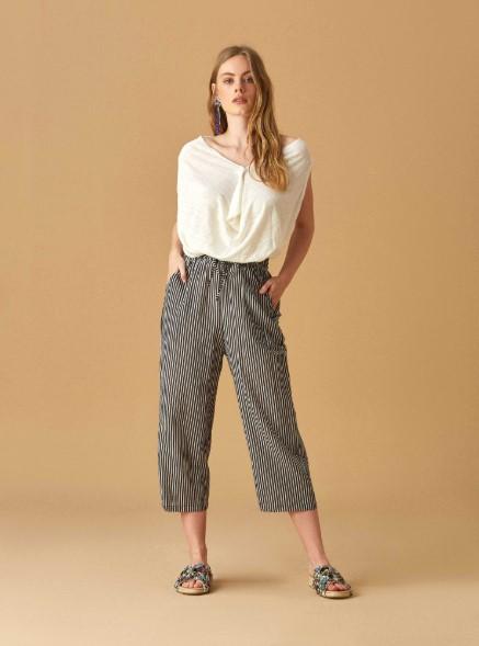 kısa paça pantolon kombini