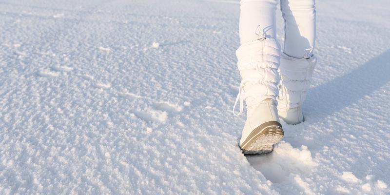 Beyaz kar botu
