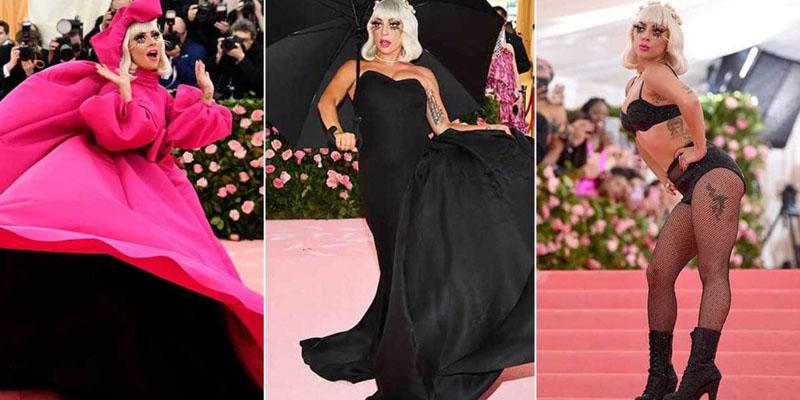 Lady Gaga gala kostümeleri