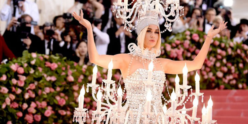 Katy Perry gala kostümü