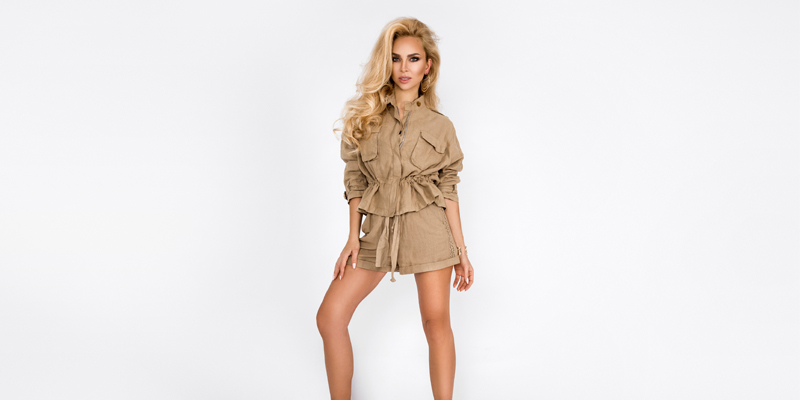 Safari ceket