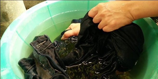jean yıkama işlemi