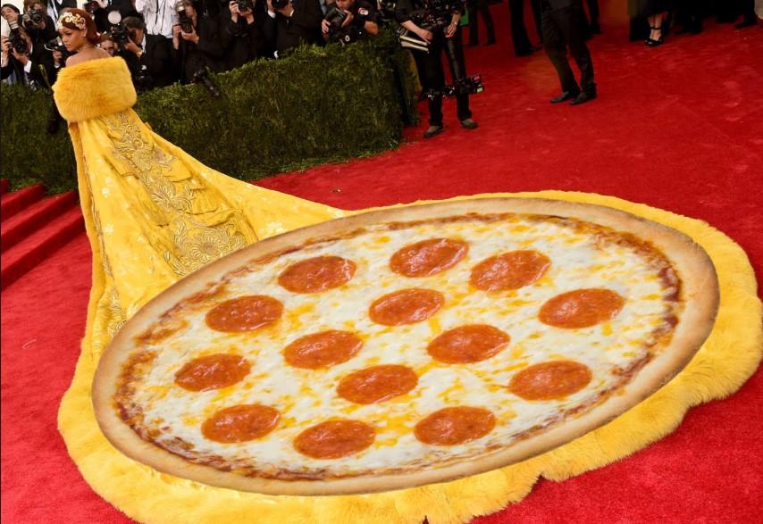 Rihanna pizza