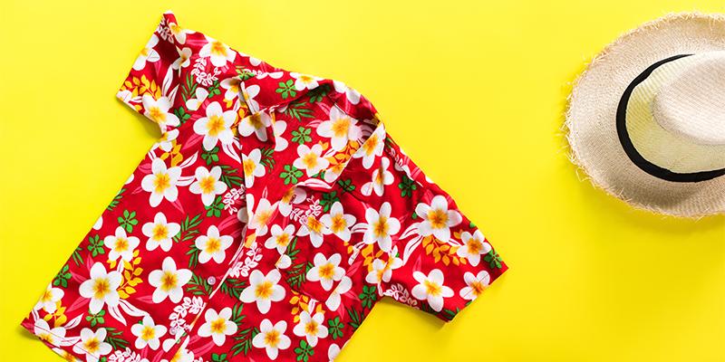 Tropikal gömlek
