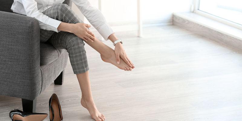 topuklu ayakkabı sorunları