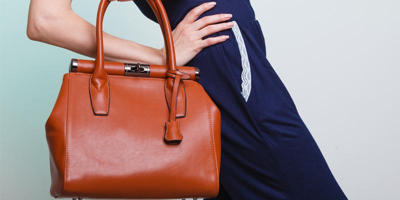 Tarçın rengi çanta