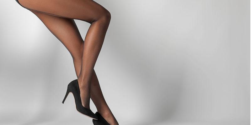 siyah ince çorap
